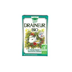 Tisane Draineur Bio - 20 Sachets - Romon nature