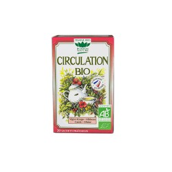 Tisane Circulation Bio - 20 Sachets - Romon nature
