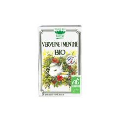 Tisane Verveine / Menthe Bio - 20 Sachets - Romon nature