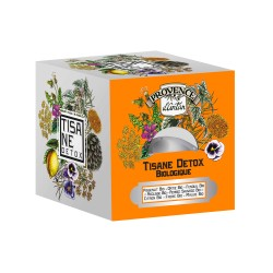 Tisane Détox Bio - Provence d'Antan - Recharge 24 Sachets