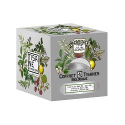 4 Tisanes Bio - Provence d'Antan - Recharge 24 Sachets