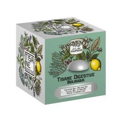 Coffret Tisane Digestive Bio - Provence d'Antan - Boîte Métal 24 Sachets