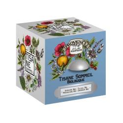 Coffret Tisane Sommeil Bio - Provence d'Antan - Boîte Métal 24 Sachets