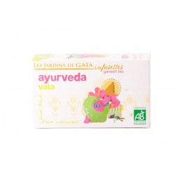Ayurveda Vata, Infusettes Bio 40g-Les Jardins de Gaia