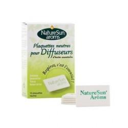 Plaquettes neutres pour Diffuseurs - 10 plaquettes - NaturSun'Aroms