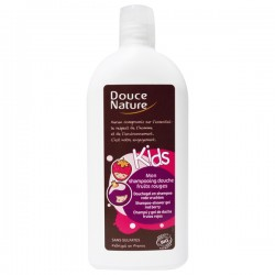 Shampooing Douche Fruits Rouges Kids 300mL - Douce Nature