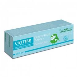 Dentifrice 7 ans + Goût Menthe Douce - 50ml - CATTIER