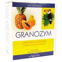 Granozym - 30 Comprimés - Dr Grandel Le toucan