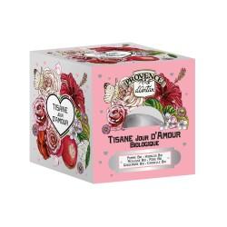 Tisane Jour d'Amour Bio - Provence d'Antan - Recharge 24 Sachets