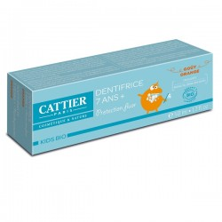 Dentifrice 7 ans + Goût Orange - 50ml - CATTIER