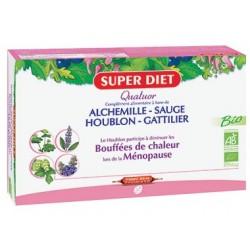 Quatuor Bio Alchemille / Sauge / Houblon / Gattilier - 20 Ampoules de 15ml - SuperDiet