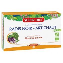 Radis Noir / Artichaut - 20 Ampoules de 15ml - SuperDiet