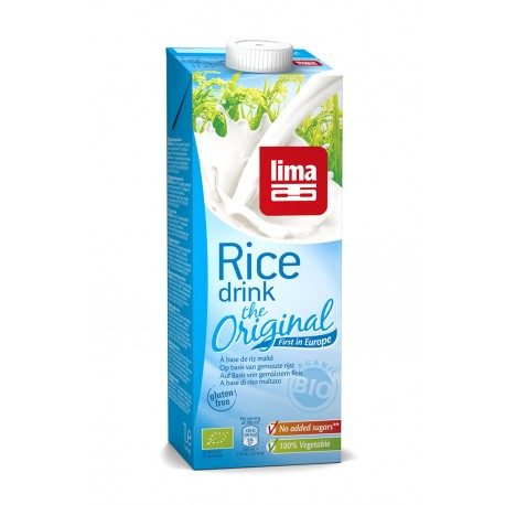 Rice Drink Natural 1L-Lima