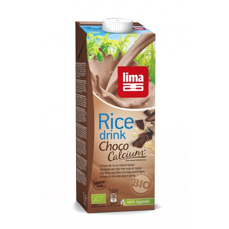 Rice Drink Choco-Calcium-Soja 1L-Lima