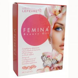 Femina Beauty Oil - 40 Capsules - Laboratoire LEFEVRE