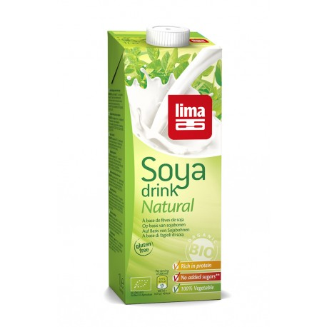 Soya Drink Natural 1L-Lima