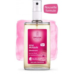 Déodorant Rose Musquée - 100ml - Weleda