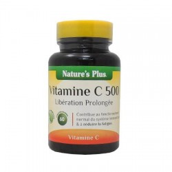 Vitamine C 500 - 60 Comprimés - Nature's Plus