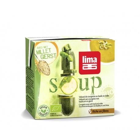 Velouté de Courgettes au Basilic et Millet 0.5L-Lima
