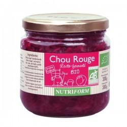 Chou Rouge Lacto-fermenté 380g-Nutriform