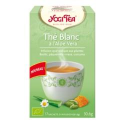 Thé Blanc à l'Aloe Vera - 17 infusettes - Yogi Tea