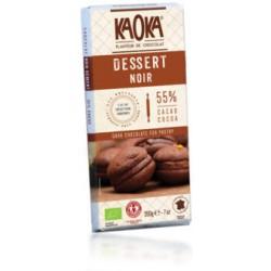 Chocolat Dessert Noir Bio 55% Cacao - 200g - KAOKA