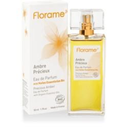 Ambre Précieux Eau de Parfum aux HE Bio - 50ml - Florame