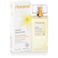 Vanille Gourmande Eau de Parfum aux HE Bio - 50ml - Florame