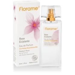 Rose Eclatante Eau de Parfum aux HE Bio - 50ml - Florame