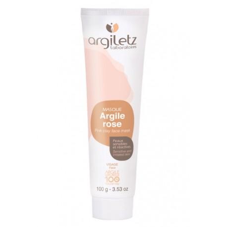 Pate pour Masque d'Argile Rose 400g - Argiletz