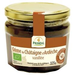 Crème de Châtaigne d'Ardèche AOP Vanillée - 325g - Priméal