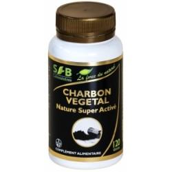 Charbon Végétal super activé - 120 Gélules - Laboratoires SFB