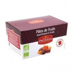 Pâtes de Fruits Bio Assortiment 6 Fruits - 190g - Maison ProSain