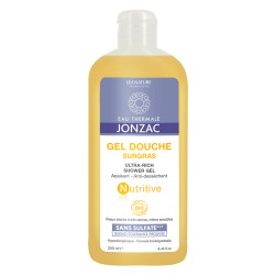 Gel Douche Surgras Nutritive - 500mL - Eau Thermale Jonzac