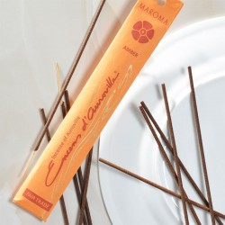 Encens d'Auroville Amber (Ambre) - 10 Bâtonnets - Maroma