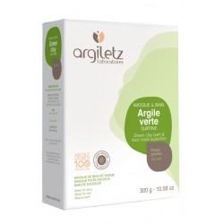 Argile Verte Surfine Poudre - 300g - Argiletz