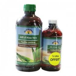 Gelée d'Aloe Vera Feuilles Entières - 946ml + 473ml Gratuit - Lily of the Desert