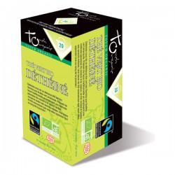 Thé Vert Bio Déthéiné - 20 infusettes - Touch Organic