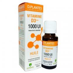 Vitamine D3++ 1000UI - 20ml - D.plantes