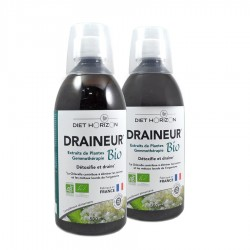 Lot Draineur Bio - 2x500ml - Diet Horizon
