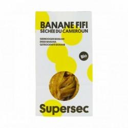 Banane Fifi Séchée du Cameroun - 110g - Supersec