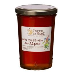 Miel Bio d'Italie des Alpes 500g-Terre de Miel