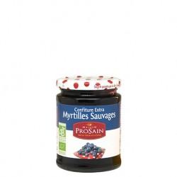 Confiture extra Myrtilles Sauvages 350g-Maison ProSain
