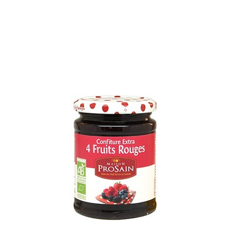 Confiture extra 4 Fruits Rouges 750g-Maison ProSain