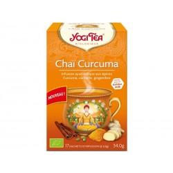 Chaï Curcuma - 17 infusettes - Yogi Tea