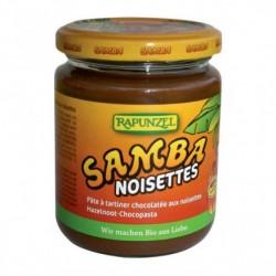 Samba Pâte à Tartiner Noisette et Rapadura Bio - 500gr - Rapunzel