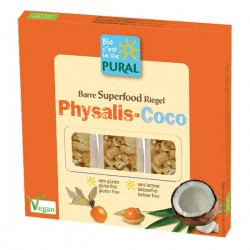 Barre Superfood Physalis-Coco - 3x25gr - Pural