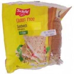 Sandwich Multi-Graines Sans Gluten - 400gr - Schär