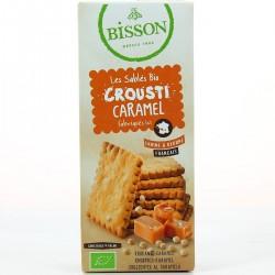 Les Sablés Bio Crousti Caramel - 118gr - Bisson
