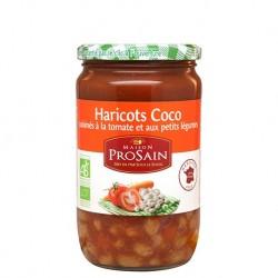 Haricots Coco à la Tomate 690g -Maison ProSain